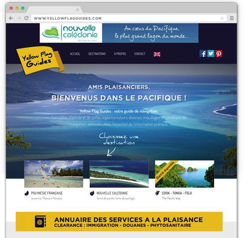Yellow Flag Guides : votre guide de navigation de plaisance dans l'océan Pacifique